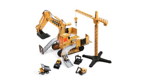 CuteStone 變形挖土機聲光組合玩具