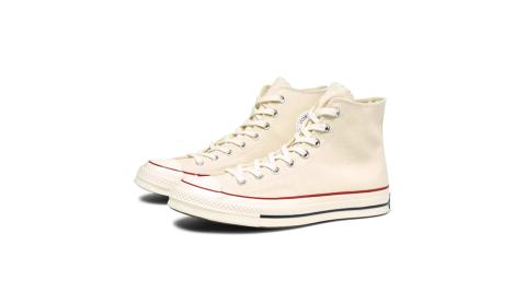 CONVERSECHUCK1970男女高筒帆布鞋米白162053C