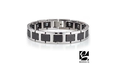 MASSA-G【摩登悍將】鎢鋼純鈦能量手環