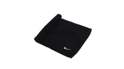 NIKE 日式盒裝毛巾-一只入 海邊 浴巾 游泳 戲水 慢跑 路跑 黑灰@NTTC2042NS@