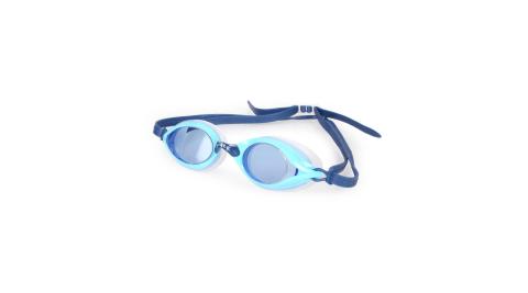 SABLE 101T系列平光泳鏡-訓練 游泳 海邊 蛙鏡 藍@RS101T-02-13312@