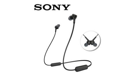 SONY無線藍牙耳道式耳麥WI-XB400-B黑
