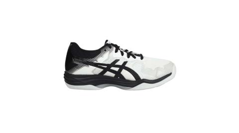 ASICS GEL-TACTIC 男排羽球鞋-2E-排球 羽球 寬楦 亞瑟士 白黑@1073A032-100@