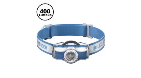 【LED LENSER】LED LENSERMH5 專業伸縮調焦頭燈 400流明 藍 最高 400 流明 / 最低 20 流明