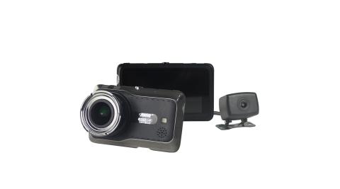 攔截者-V2 前後1080P 雙鏡頭行車記錄器 倒車顯影 (送32G Class記憶卡+免費基本安裝)