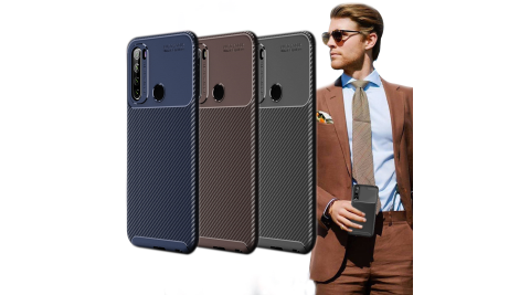 爵士焦點 紅米Redmi Note 8T 碳纖維防指紋軟式手機殼