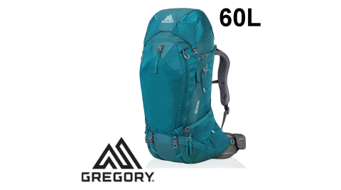 【Gregory】登山背包 DEVA 60 女 安地卡綠 (91622/6399) 登山背包 S