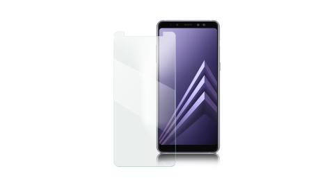 Xmart Samsung A8+  2018 薄型 9H 玻璃保護貼 (非滿版)