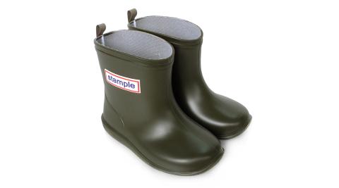 Stample日本製兒童雨鞋(橄欖綠)