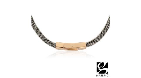 MASSA-G Titan XG2 5mm質感銀超合金鍺鈦項圈