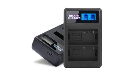 YHO 液晶雙槽充電器for Nikon EN-EL3E (一次可充兩顆電池)
