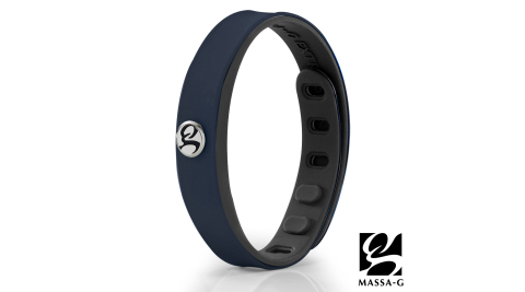 MASSA-G SP1炫色鍺鈦能量手環-深藍