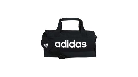 ADIDAS 小型圓筒包-側背包 裝備袋 手提包 肩背包 14L 愛迪達 黑白@GN1925@