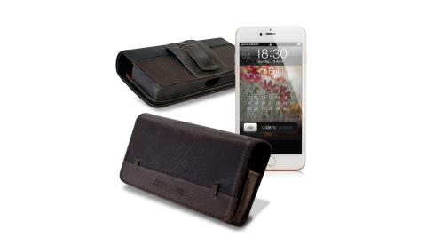 CB Apple iPhone 7 / i7 4.7吋 品味柔紋橫式腰掛皮套