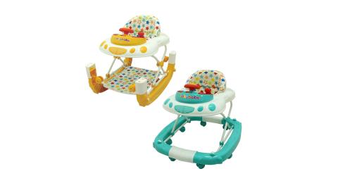 【Babybabe】多功能汽車嬰幼兒學步車/搖馬遊戲車