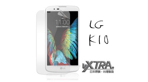 VXTRA LG K10 / K430DSY 高透光亮面耐磨保護貼