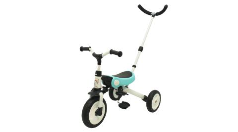 【BabyBabe】折疊多功能兒童滑步車/平衡車/三輪車/自行車(附可後控推把)
