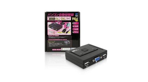 Uptech REX-230U 2-Port USB電腦切換器