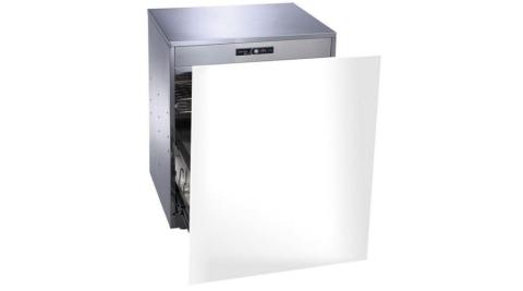 (含標準安裝)櫻花落地式嵌門板臭氧殺菌高50cm(與Q7596AML同款)烘碗機白色Q-7596AML