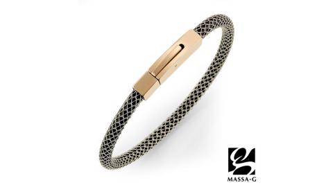 MASSA-G Titan XG2 5mm質感銀超合金鍺鈦手環