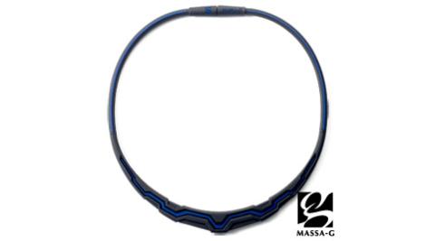 MASSA-G【極光系列-Blue】 鍺鈦項圈