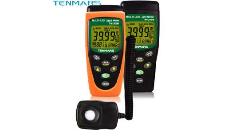 TENMARS LUX/FC LED 照度錶 TM-209M