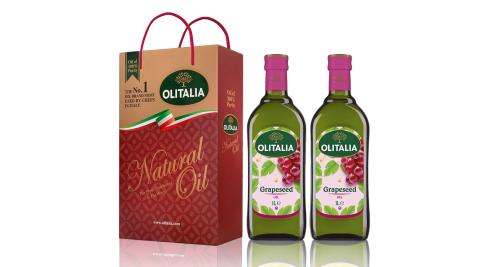 Olitalia奧利塔-葡萄籽油禮盒6組