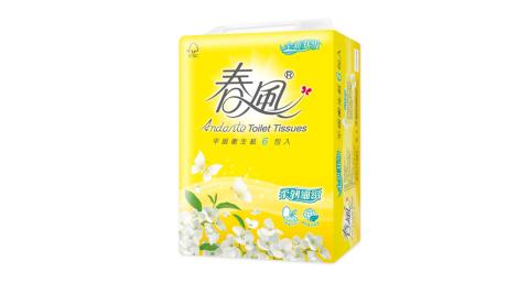 【春風】新包裝 平版衛生紙-300張*6包*6串/箱