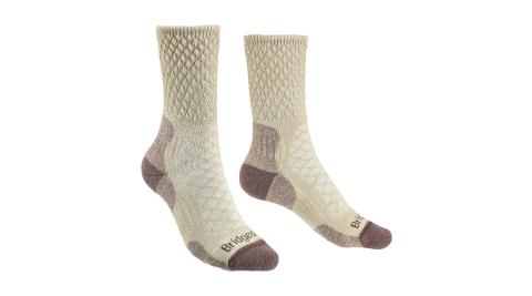 【Bridgedale】健行家 溫控級美麗諾輕量襪 美麗諾羊毛 710619-929 登山襪 中筒襪 羊毛襪 女款