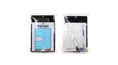 SPALDING 雙面戰術盤-斯伯丁 配件 教戰板 教練板 籃球 依賣場@SPB85004@