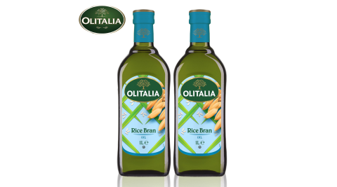 【Olitalia奧利塔】玄米油單罐5罐組(1000ml/罐)