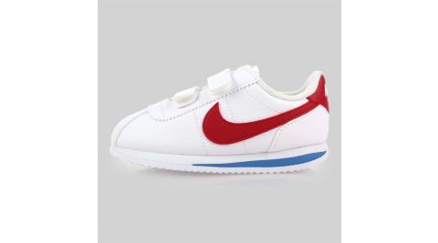NIKE CORTEZ BASIC SL-TDV 男女童復古休閒鞋-童鞋 白紅藍@904769103@
