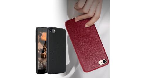 CITYBOSS for iPhone SE2/iPhone 8/ iPhone 7 /iPhone 6 簡單經典真皮手機保護殼