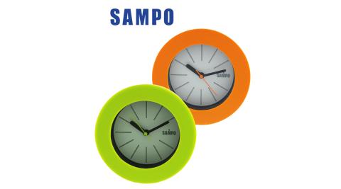 【SAMPO聲寶】粉彩圓形鐘 PY-Z1106ML