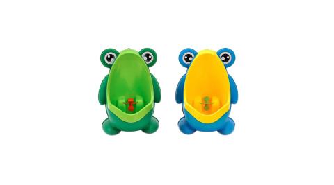 【孩子國】大嘴蛙立式壁掛二用男童小便器/小便斗/尿盆 (2色隨機出貨)