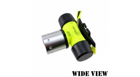【WIDE VIEW】螢光U2潛水頭燈(NZL-WU2-T)