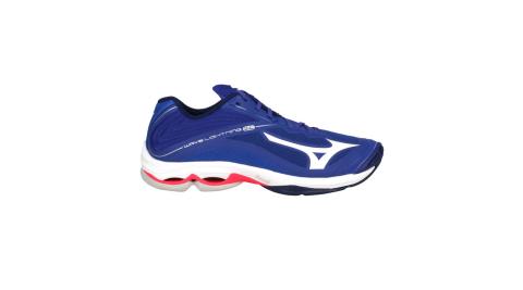 MIZUNO WAVE LIGHTNING Z6 男排球鞋-美津濃 藍白@V1GA200020@