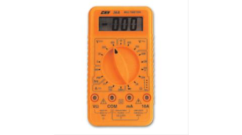 經濟型數位三用電錶CHY-36A