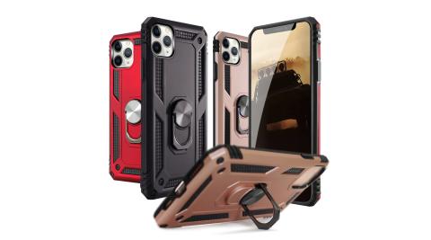 CITY for iPhone 11 Pro Max 個性軍士磁吸防摔手機殼