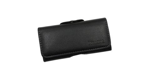Xmart for iPhone 12 Mini 5.4吋 紳士薄型橫式腰掛皮套