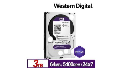 WD 威騰 WD30PURZ 紫標 3TB 3.5吋監控系統硬碟