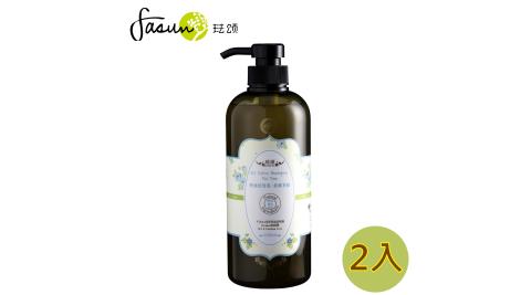 【炎夏清爽特價7折↘】琺頌-控油洗髮乳-茶樹香柏  650ml x 2瓶