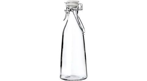 《IBILI》扣式密封玻璃水瓶(1L)_水瓶