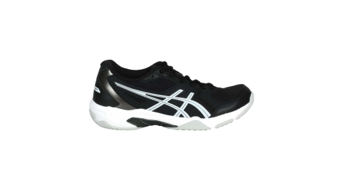 ASICS GEL-ROCKET 10 女排羽球鞋-排球 羽毛球 亞瑟士 黑白@1072A056-001@