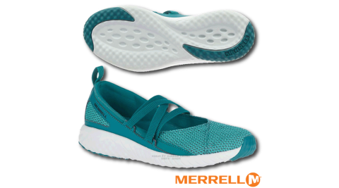 【美國 MERRELL】女新款 1SIX8 MJ AC + 輕量戶外透氣休閒鞋(GRIP耐磨抓地鞋底+Fresh抗菌防臭)_J45708 綠