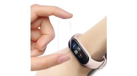 CITY for 小米手環5代 小米5 / 小米4 共用錶螢幕保護膜 (2包4入)