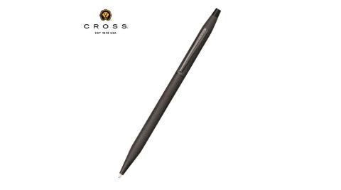 Cross經典世紀系列 啞黑蝕刻鑽石圖騰原子筆 AT0082-122