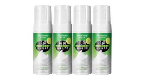 台灣製造精油抗菌泡泡洗手乳洗手慕斯150ml(4瓶組)