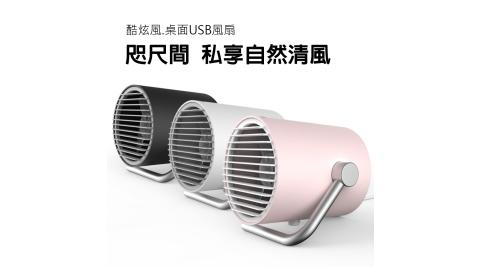 卡蛙 酷炫風雙扇式USB風扇/電風扇 觸控開關 桌扇