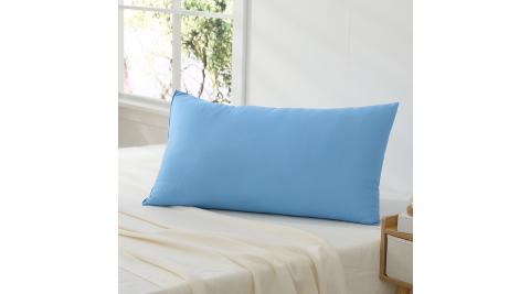 LAMINA Microban抗菌素面舒適枕-天空藍